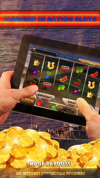 Avenger In Action Slots - FREE Slot Game Blackjack Bingo Governor