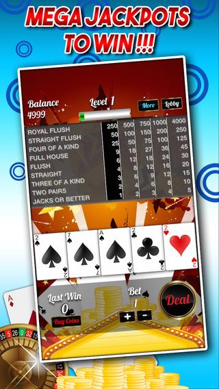 Poker Jackpot with Blackjack Bets Big Slots and More