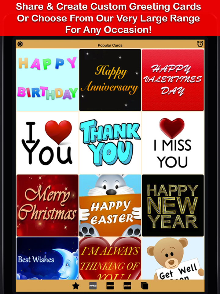Greeting Cards App - Free eCards, Send & Create Custom Fun Funny ...
