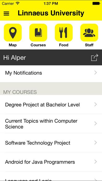 Lnu iPhone Screenshot 1