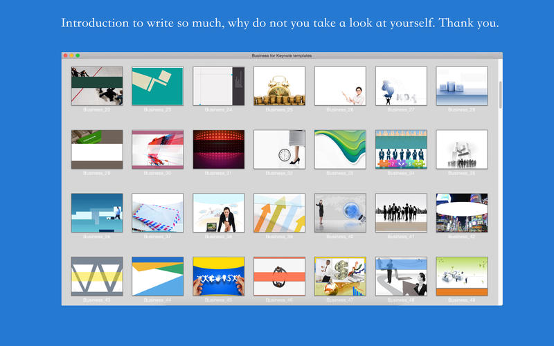Business for Keynote templates Screenshot - 5