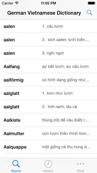 German Vietnamese Dictionary Full Offline