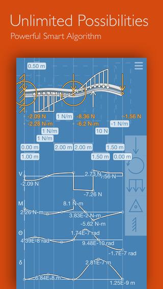 Xtruct: Statics Beam Deflection Engineering Calculator