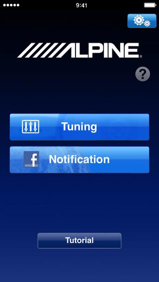 Alpine TuneIt App