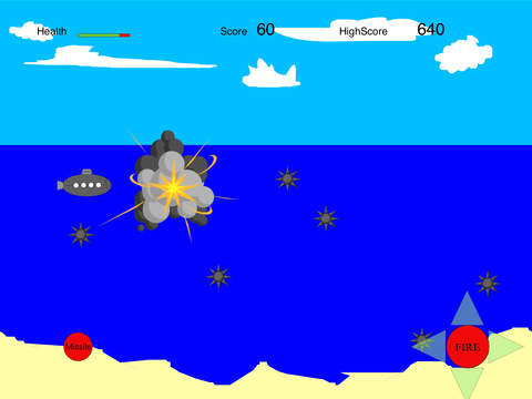 SubmarineShooterGame