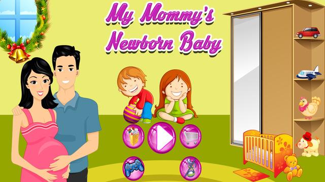 My Mommy Newborn Baby's Birth Pregnancy test girls care kids games