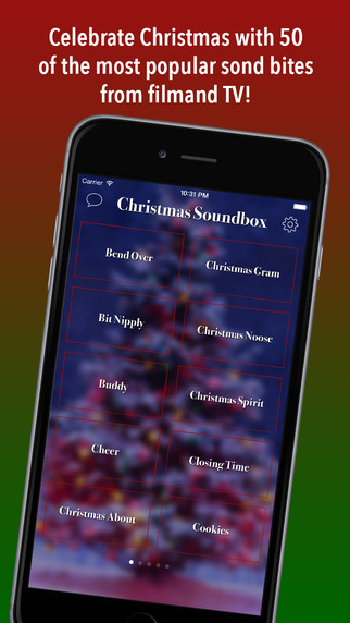 Christmas Soundbox - Sounds of the Holidays from Movies TV Pop Culture Soundboard