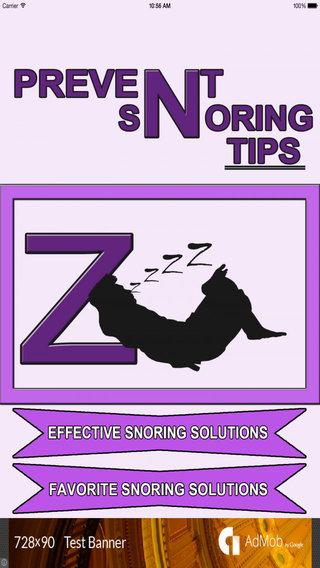 Prevent Snoring Tips - Latest Tips Useful Tips Health Tips