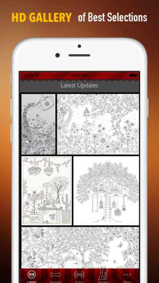 Wallpaper for Secret Garden Pattern and Quotes Best Backgrounds