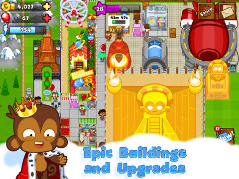 Bloons Monkey City On The App Store