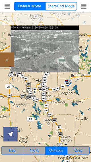 Ohio Offline Map with Real Time Traffic Cameras Pro