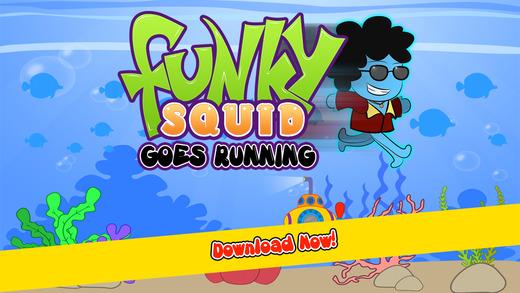【免費遊戲App】Funky Squid Goes Running Pro-APP點子