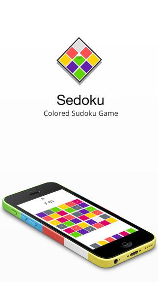 【免費遊戲App】Sedoku - Colored Sudoku Logic Game-APP點子