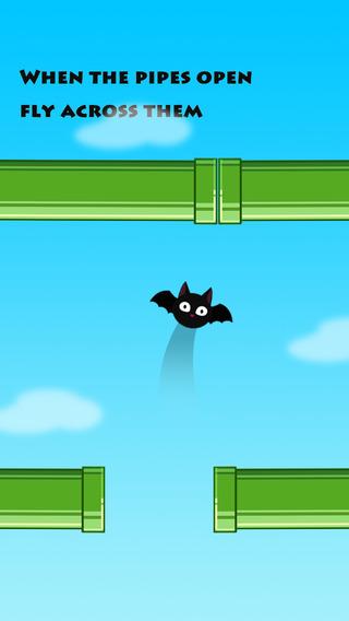 Flying Bat Cat-Two Hands Show a hobby flight