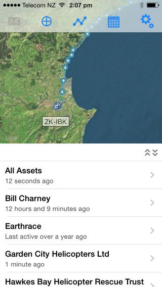 TracPlus for iPhone iPhone Screenshot 1