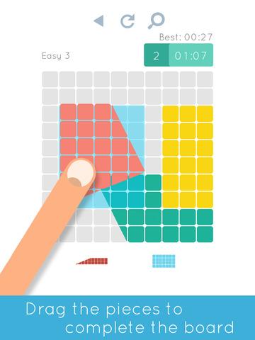 Blocks & Shapes: Color Tangramscreeshot 1