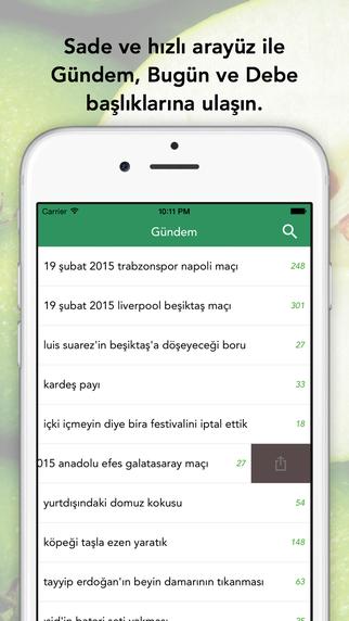 EkşiElma - ekşi sözlük mobil uygulaması
