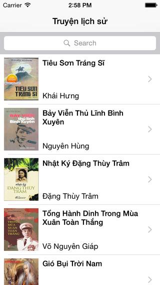 Truyện lịch sử Việt Nam - Thế giới