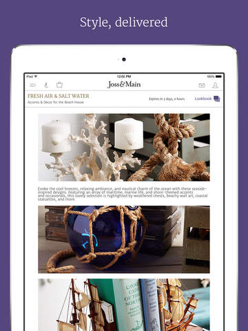 joss amp main furniture home decor amp more best apps and