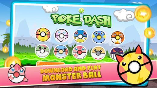 """Poke Dash Run """"Pocket Impossible Monsters Edition"""""""