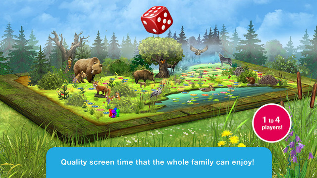We Discover Wildlife: Forest Quest - family board game with questions and answers about forest anima