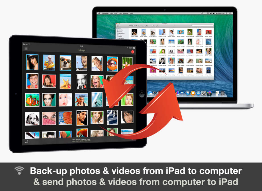 PhotoSync - wirelessly transfer your photos & videos - iPhone Mobile Analytics and App Store Data