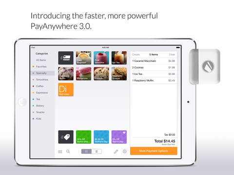 PayAnywhere – Accept Credit Cards With PayAnywhere's Mobile Credit Card Reader