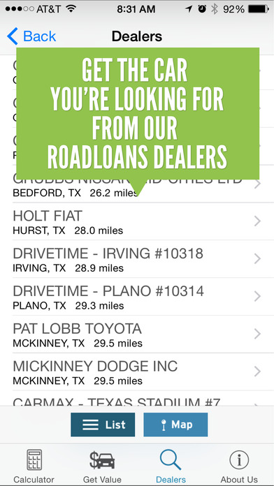 RoadLoans.com Car Loan Calculator iPhone Screenshot 5