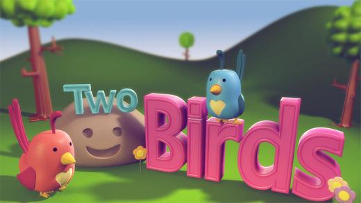 Two Birds: TopIQ Storybook For Preschool Kindergarten Kids