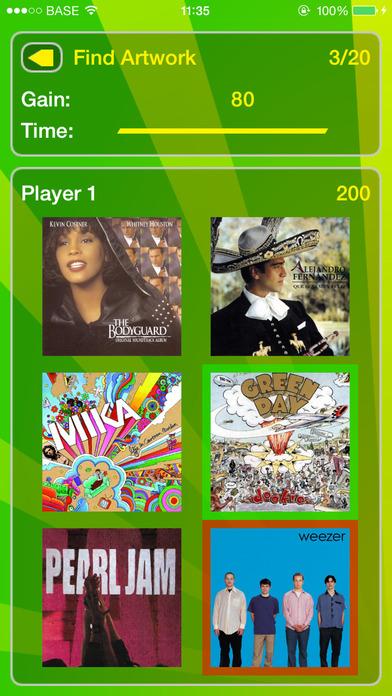 iSong Quiz iPhone Screenshot 1