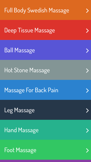 Massage Techniques - Learning Guide