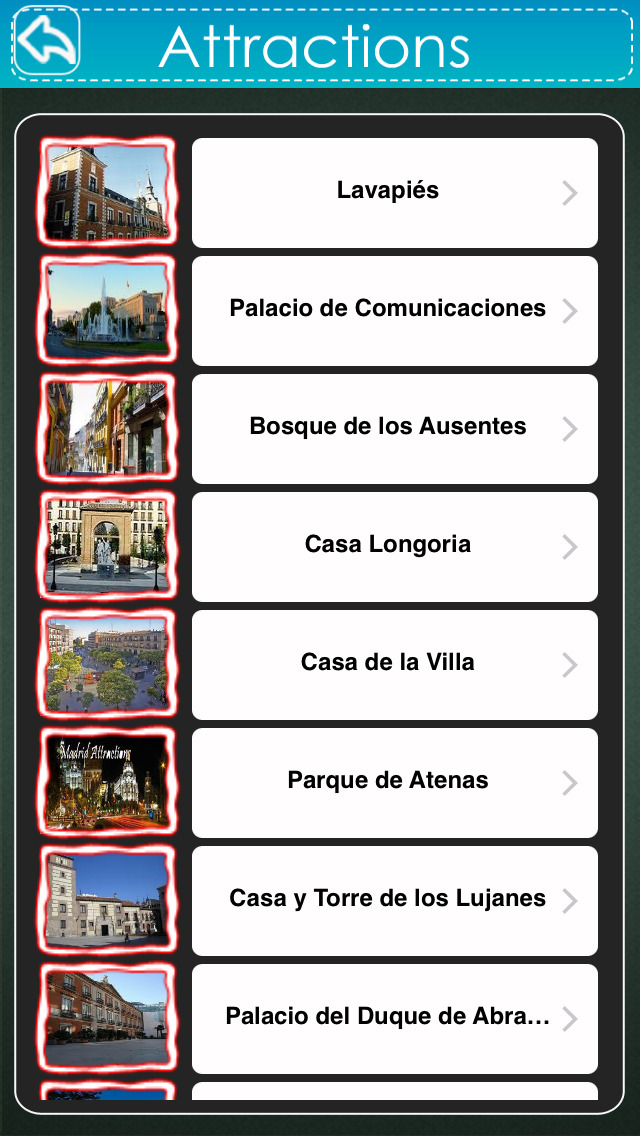 Madrid Travel Guide - Offline Map