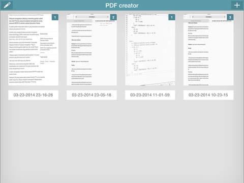 PDF Creator PRO Screenshots