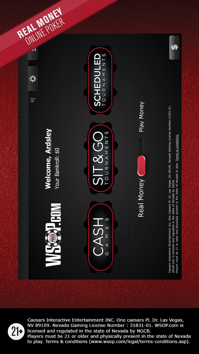 Can you play real money poker on your iphone