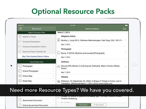 iSource APA iPad Screenshot 5