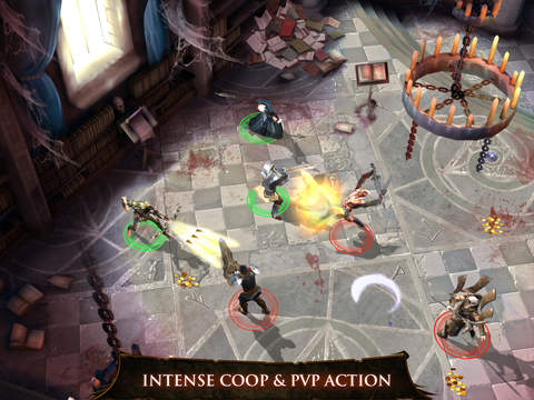 Screenshots of Dungeon Hunter 4 for iPad