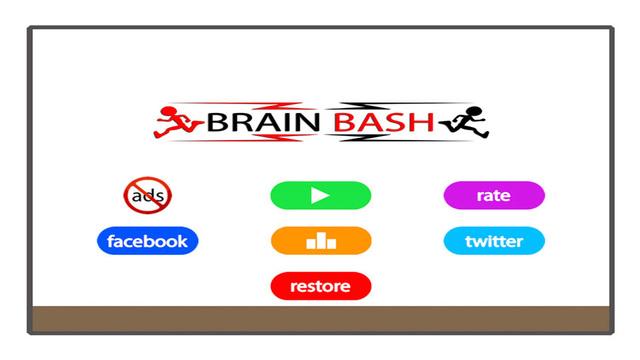 Brain Bash : Stickman's Infinite Hurdle Death Run FREE