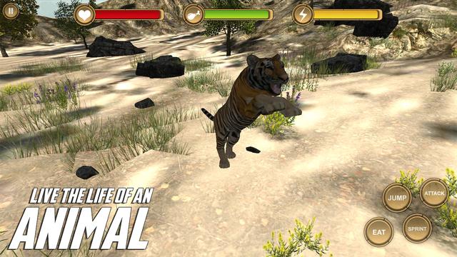 SaberTooth Tiger Simulator HD Animal Life