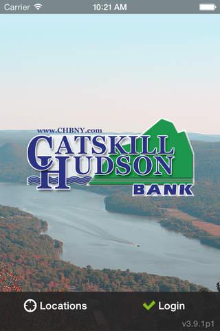 Catskill Hudson Bank Mobile screenshot 1