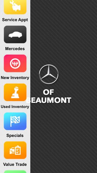 Mercedes-Benz of Beaumont Dealer App