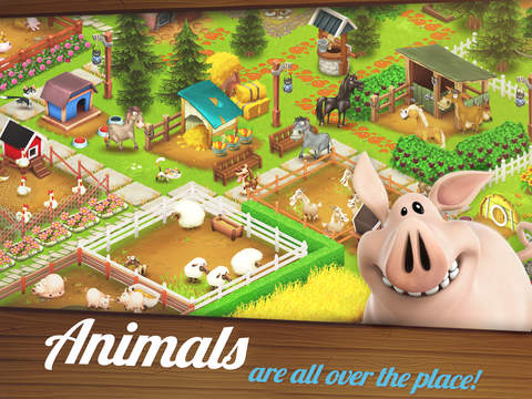 Screenshots of Hay Day for iPad