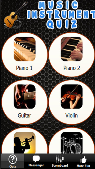 Music Instrument Quiz - Learn to Play Piano Guitar Violin Interactively