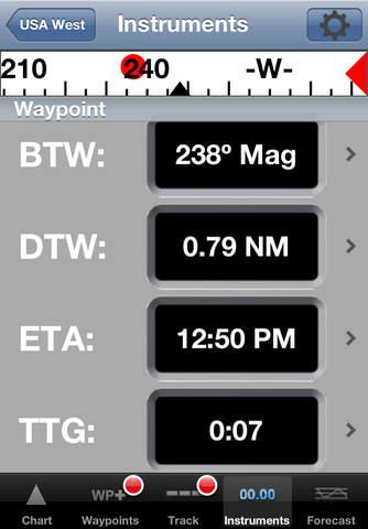 iNavX - Marine Chartplotter screenshot 2