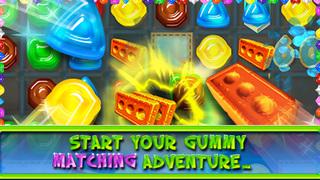 gummy drop match puzzle game