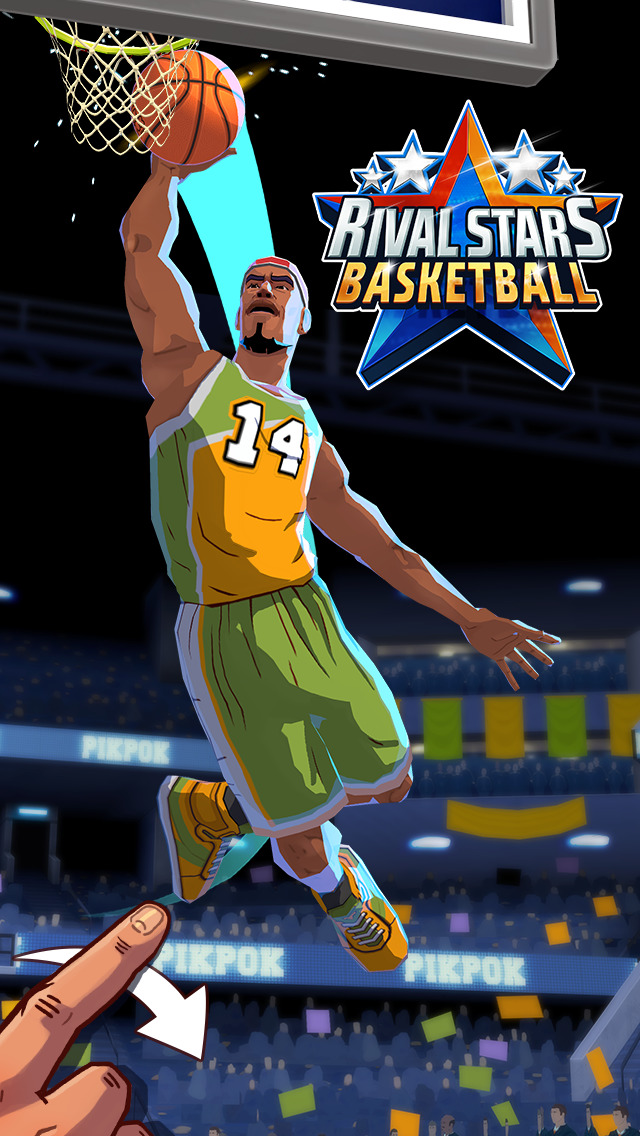Rival Stars Basketball Screenshot