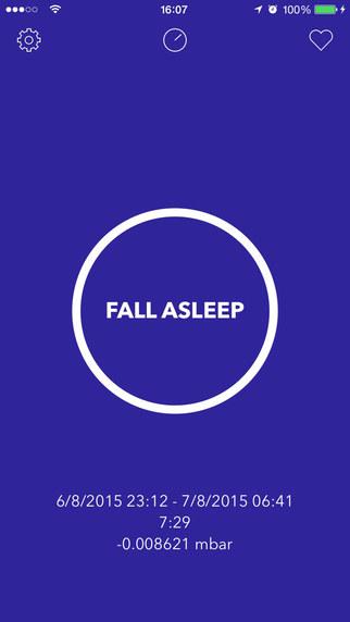 Sleep Diary - Sleep and Atmospheric Pressure Journal