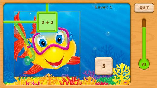 Adventures Undersea Math - Addition Free Lite
