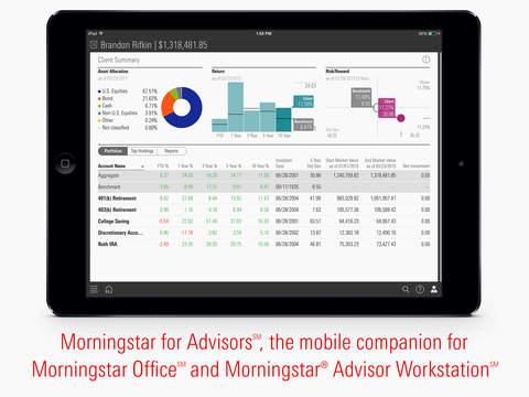 Morningstar for Advisors℠ – Client Reporting. Portfolio Analysis. Market Data.