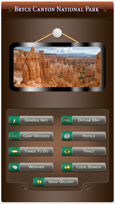 Bryce Canyon National Park - USA iPhone Screenshot 1