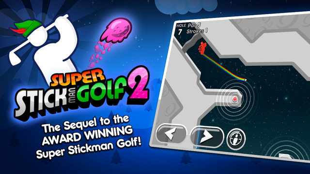 Super Stickman Golf 2 Screenshots